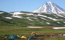 The Kamchatka Volcanoes Trek (Russia)